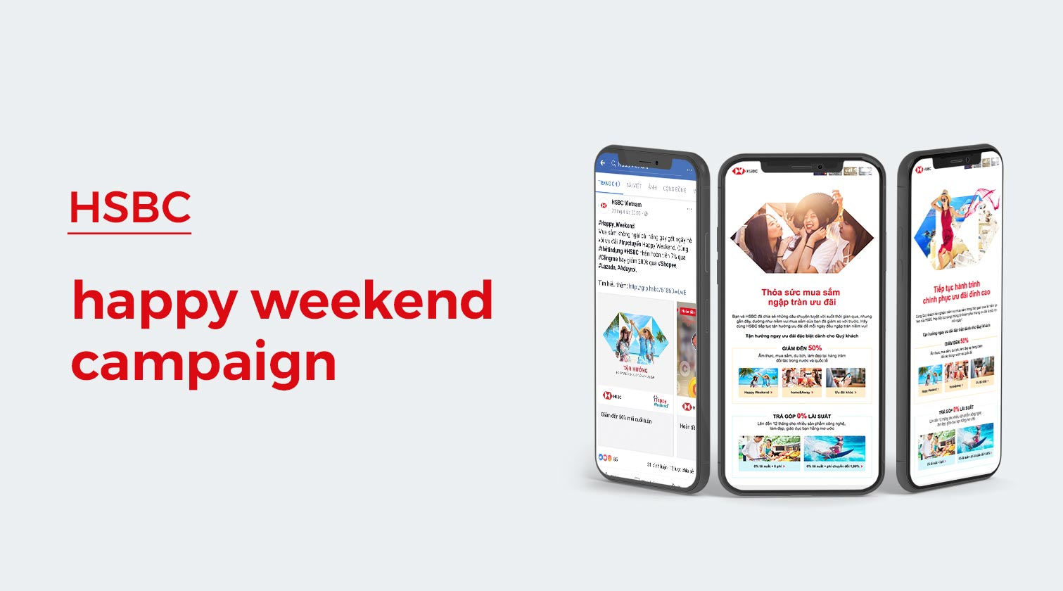 HSBC Happy Weekend campaign - Creativehunts